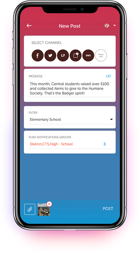 school mobile app solution